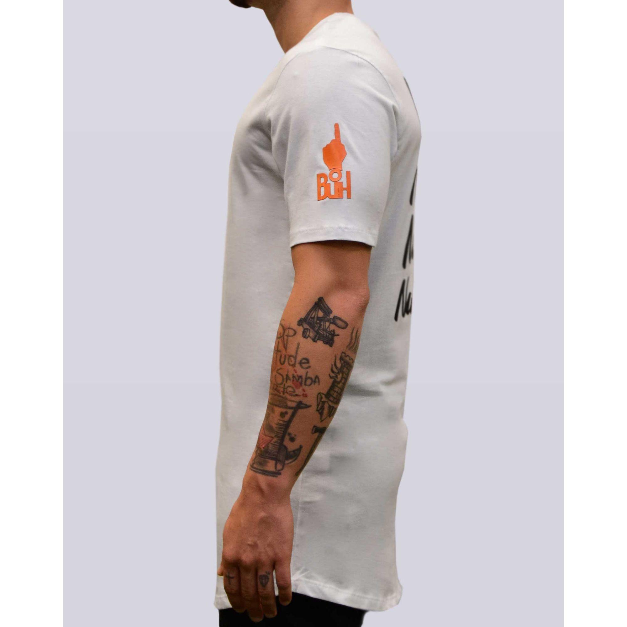 Camiseta Jeito Moleque Nas Nuvens White