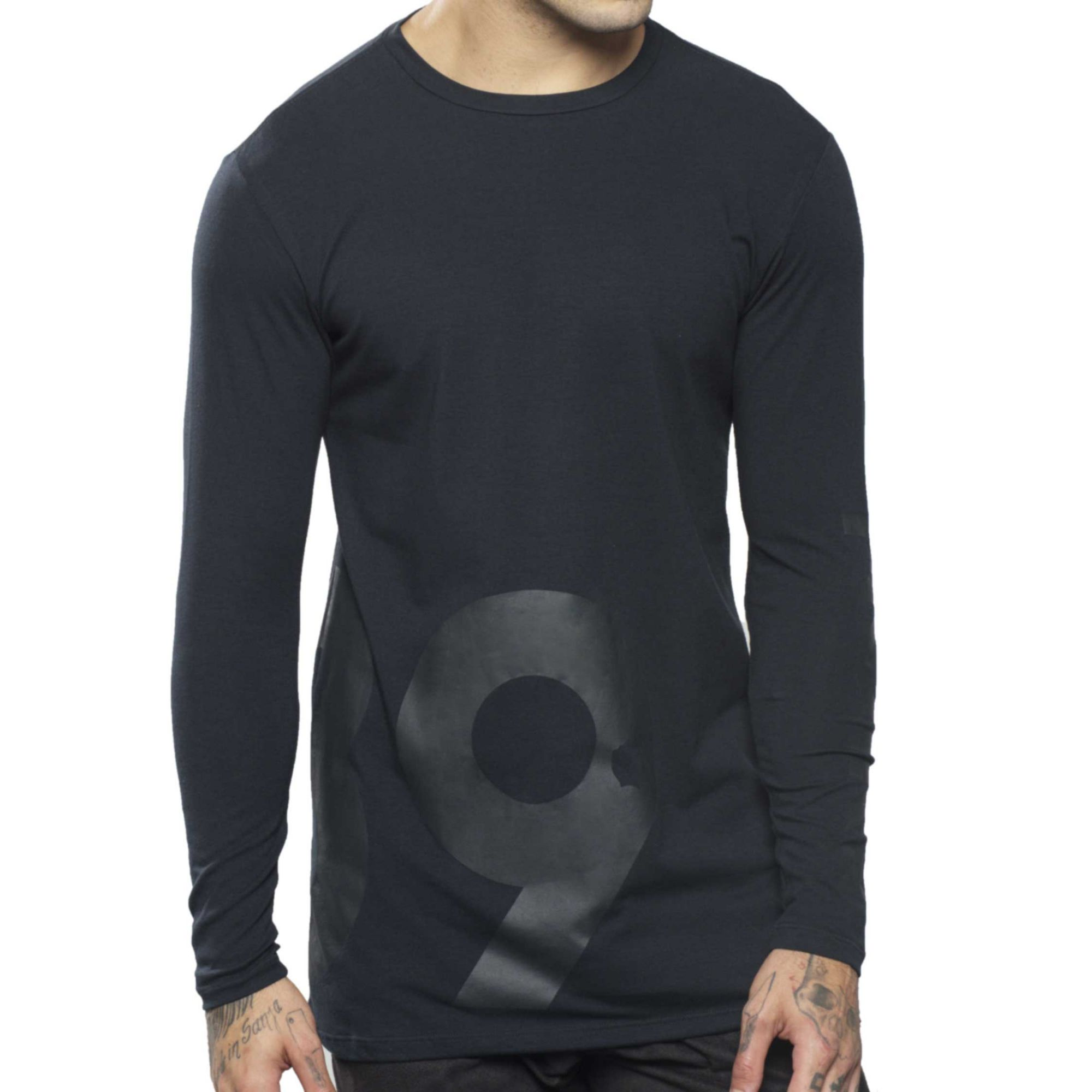 Camiseta Manga Longa 89 Black
