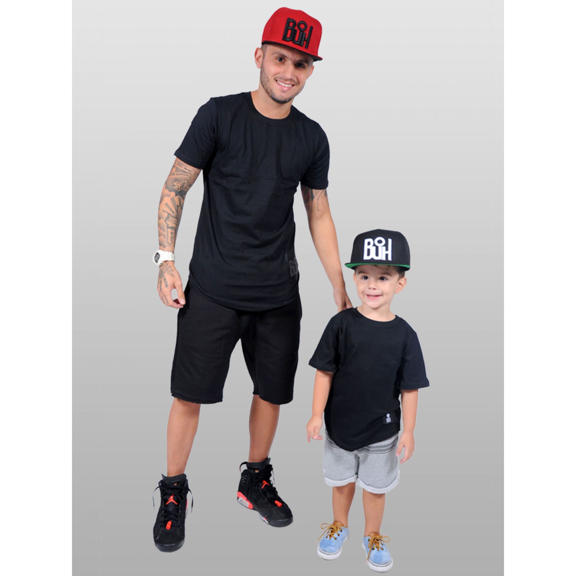 Camiseta Standard Buh Kids Black