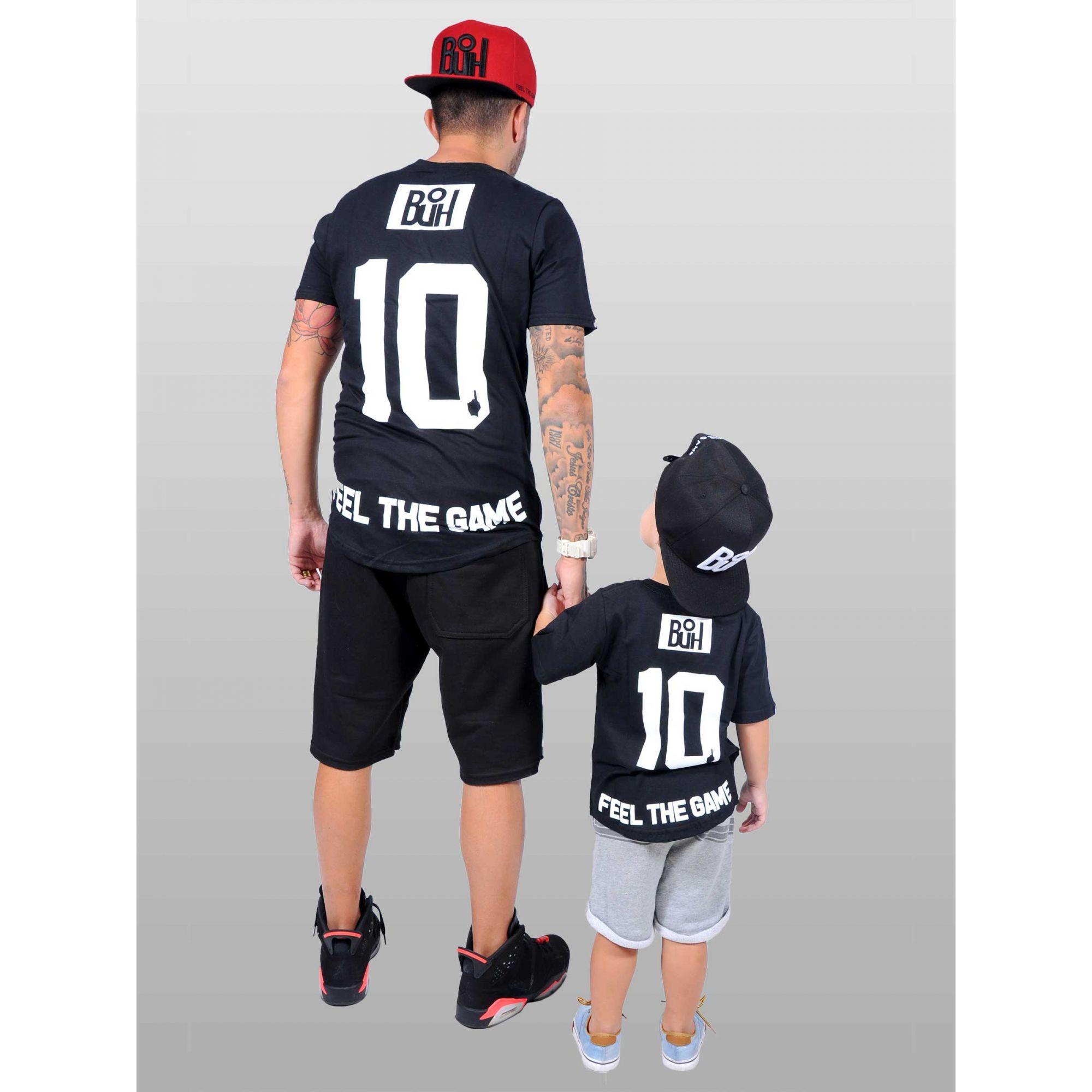 Camiseta Standard Buh Kids Black