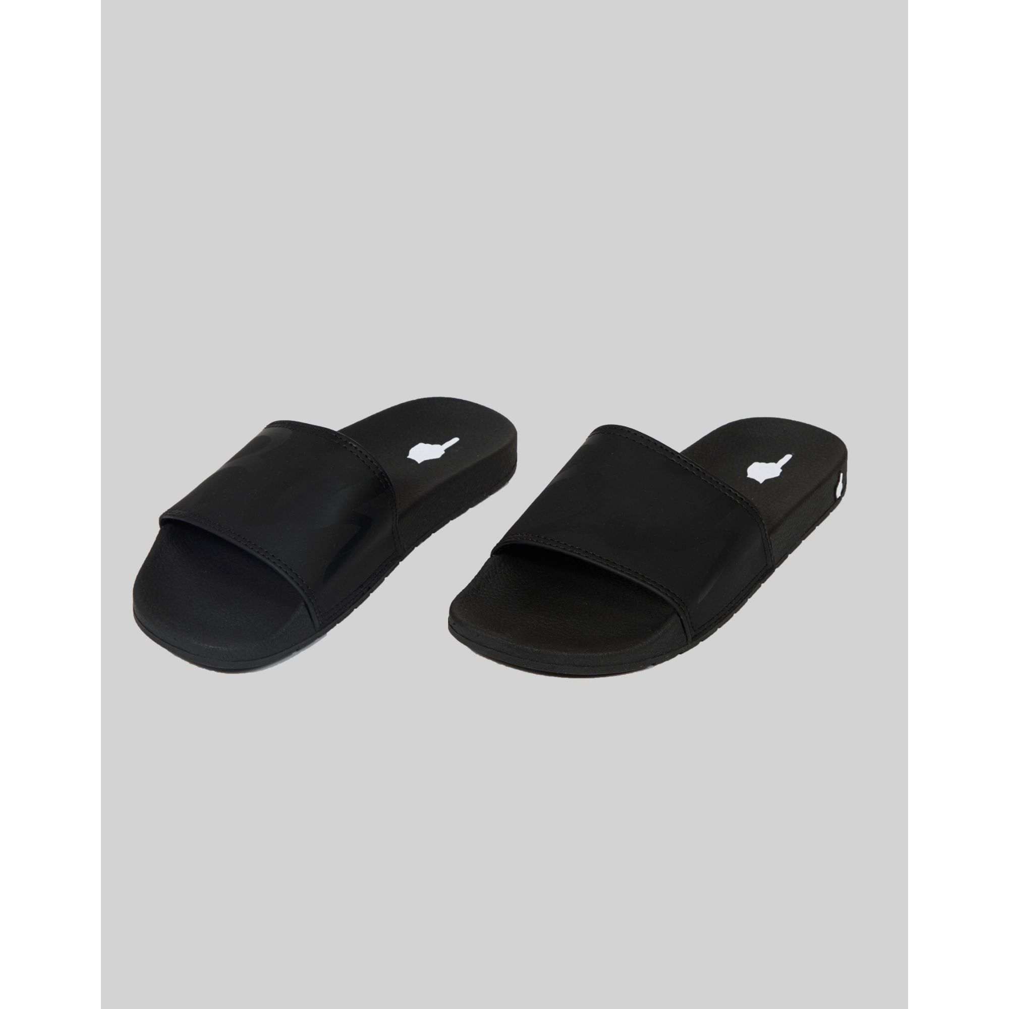 Chinelo Buh Kids Slide Black