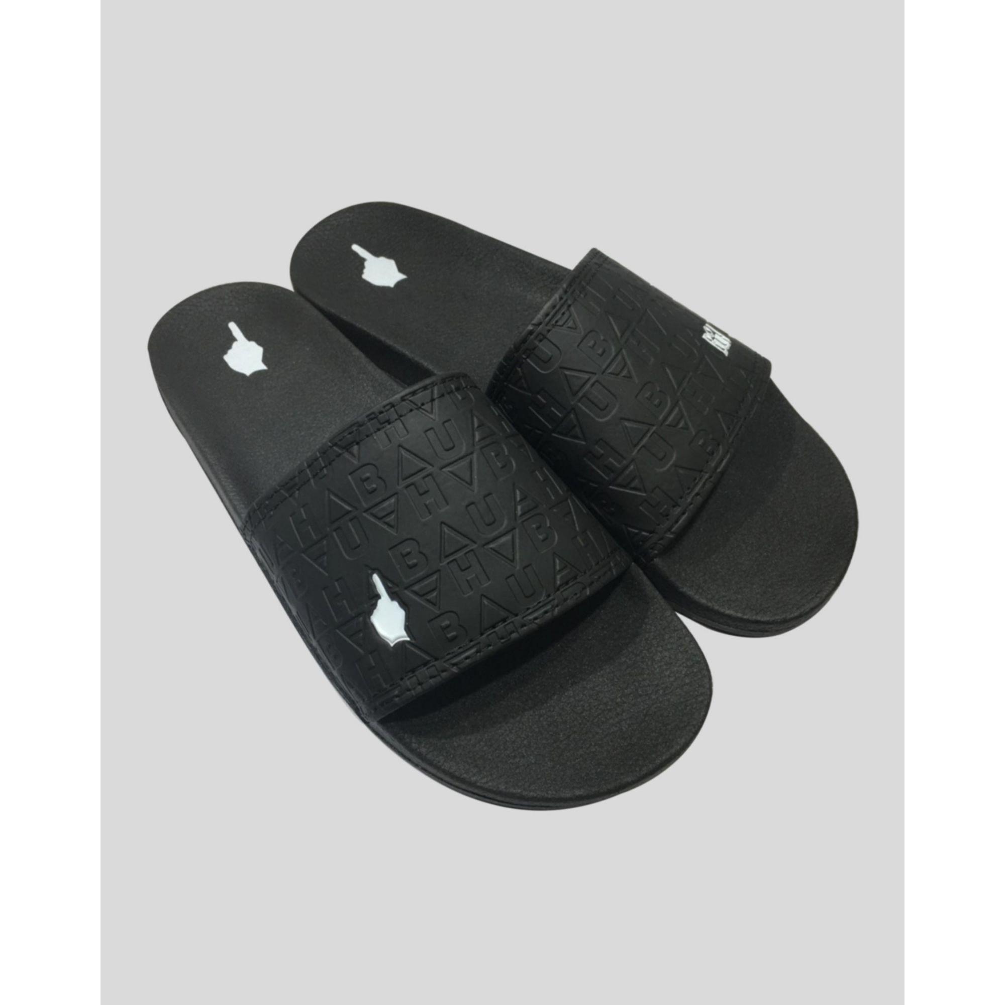 Chinelo Buh Slide Elementos Black