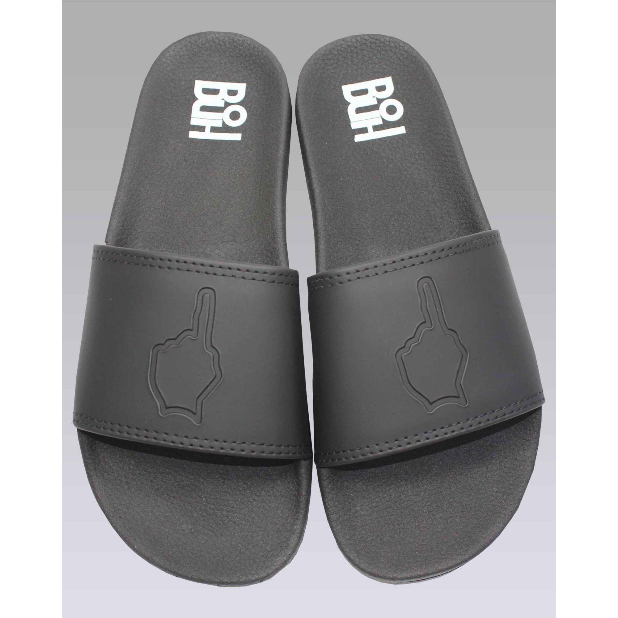 Chinelo Buh Slide Finger Black