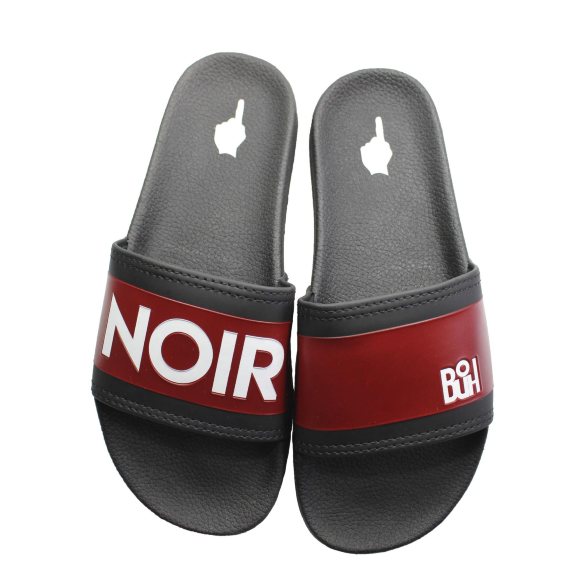 Chinelo Buh Slide Noir Black