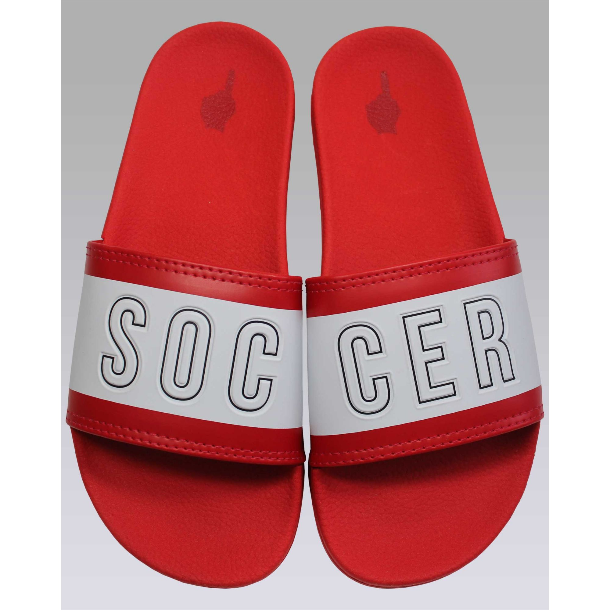 Chinelo Buh Slide Soccer Red