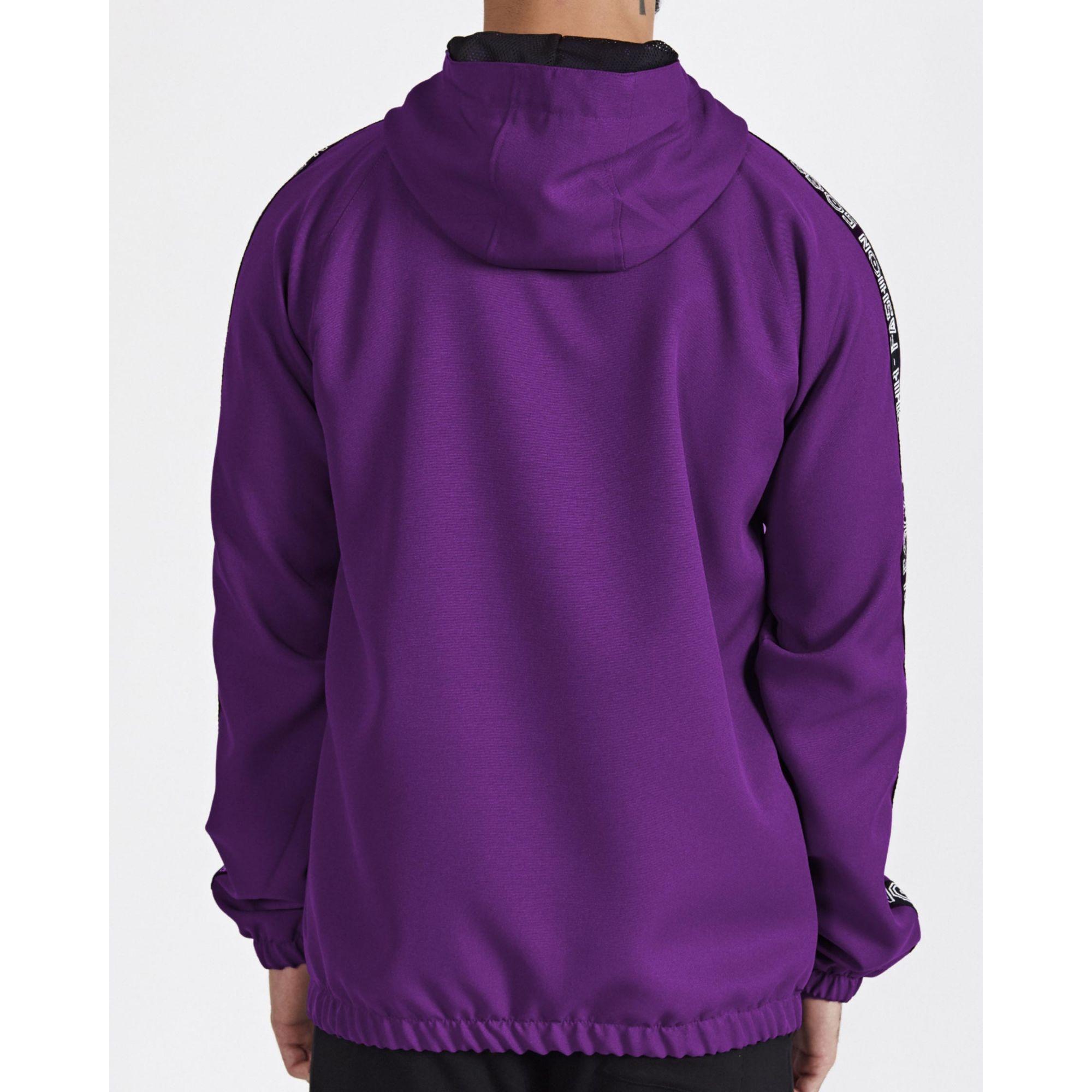 Jaqueta Buh Corta Vento Shine Purple