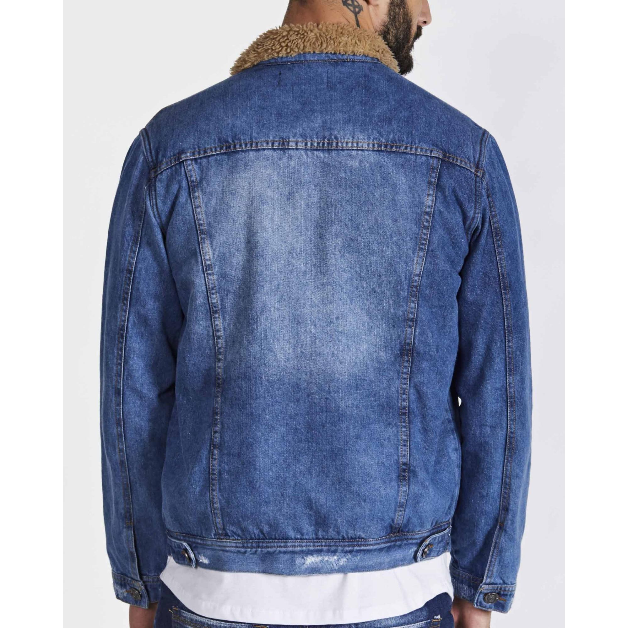 Jaqueta Buh Jeans Pelo Blue Ligth