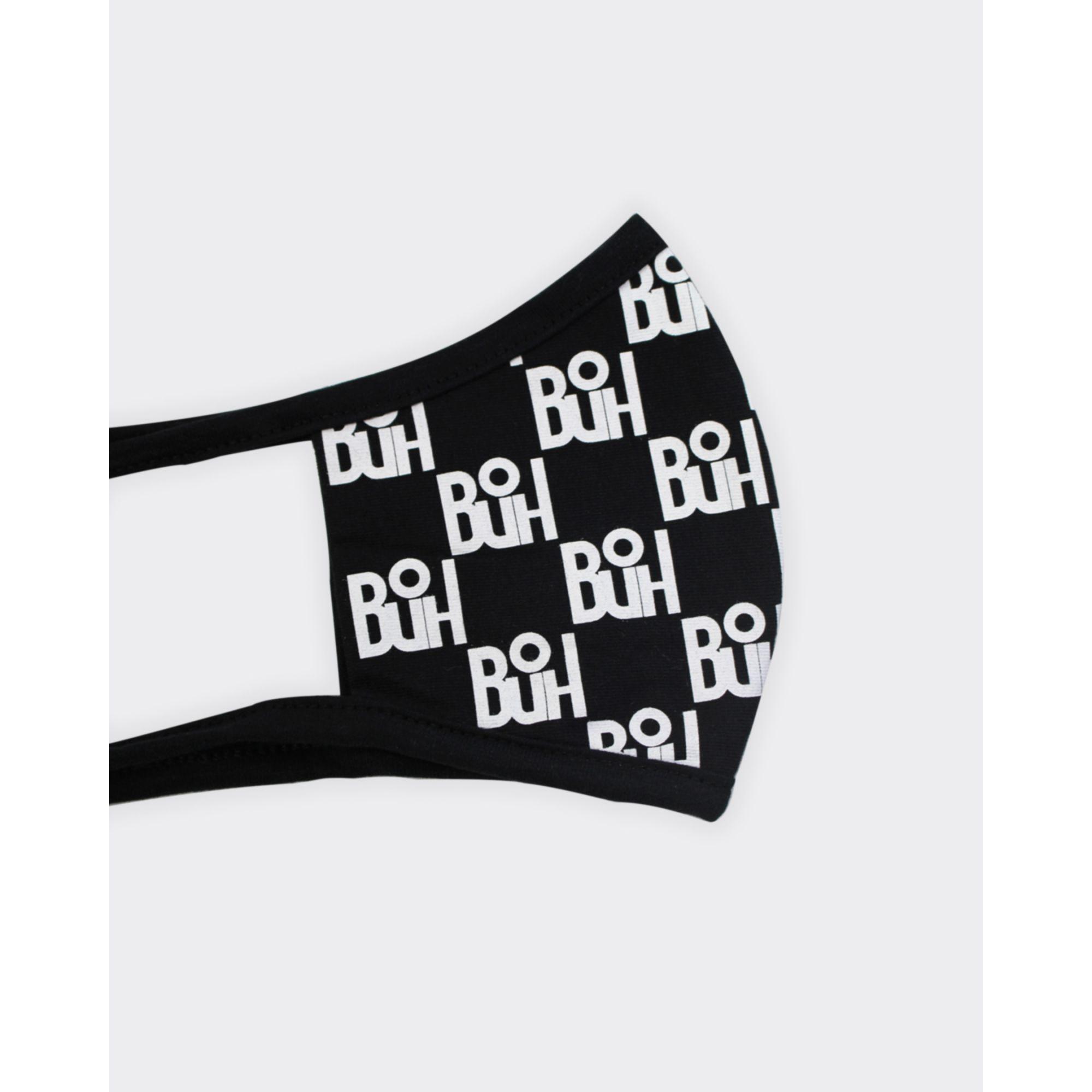 Máscara Buh Proteção Full Print Black & White