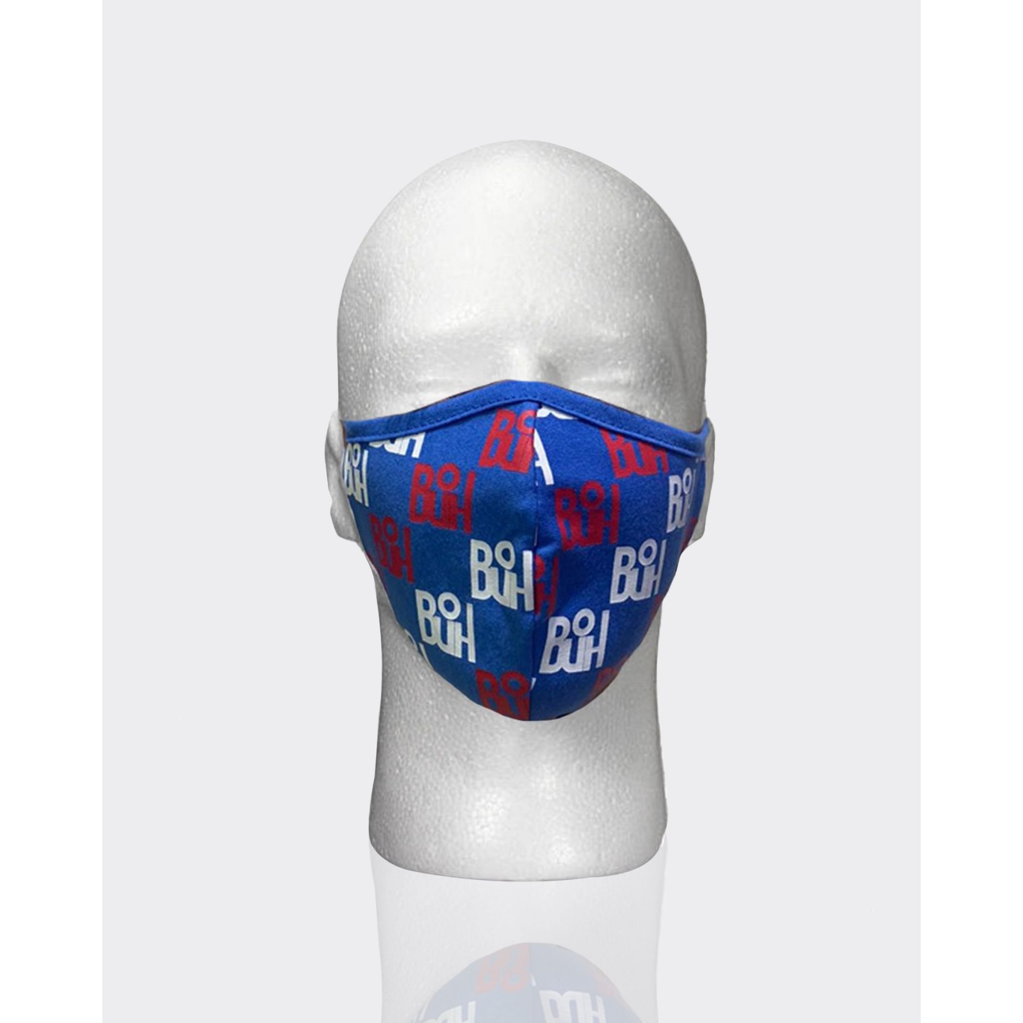 Máscara Buh Proteção Full Print Blue & Red