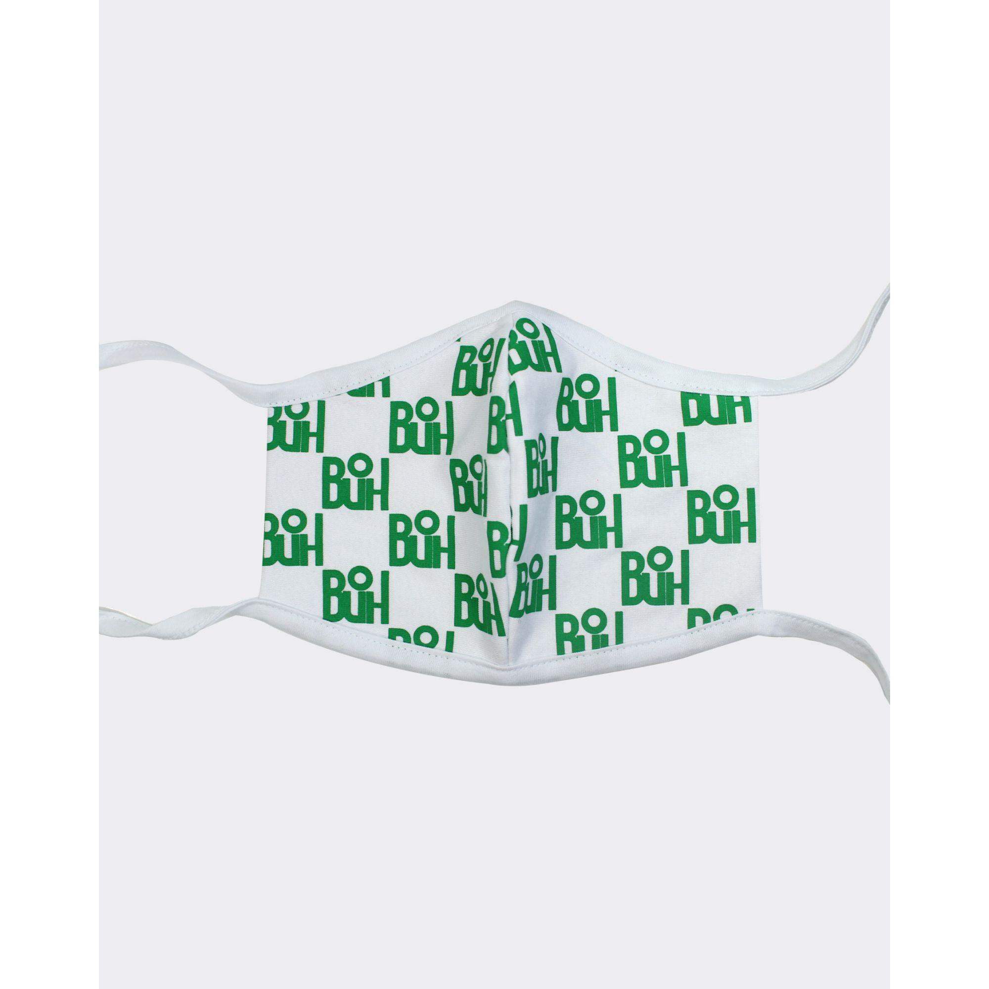 Máscara Buh Proteção Full Print Green & White