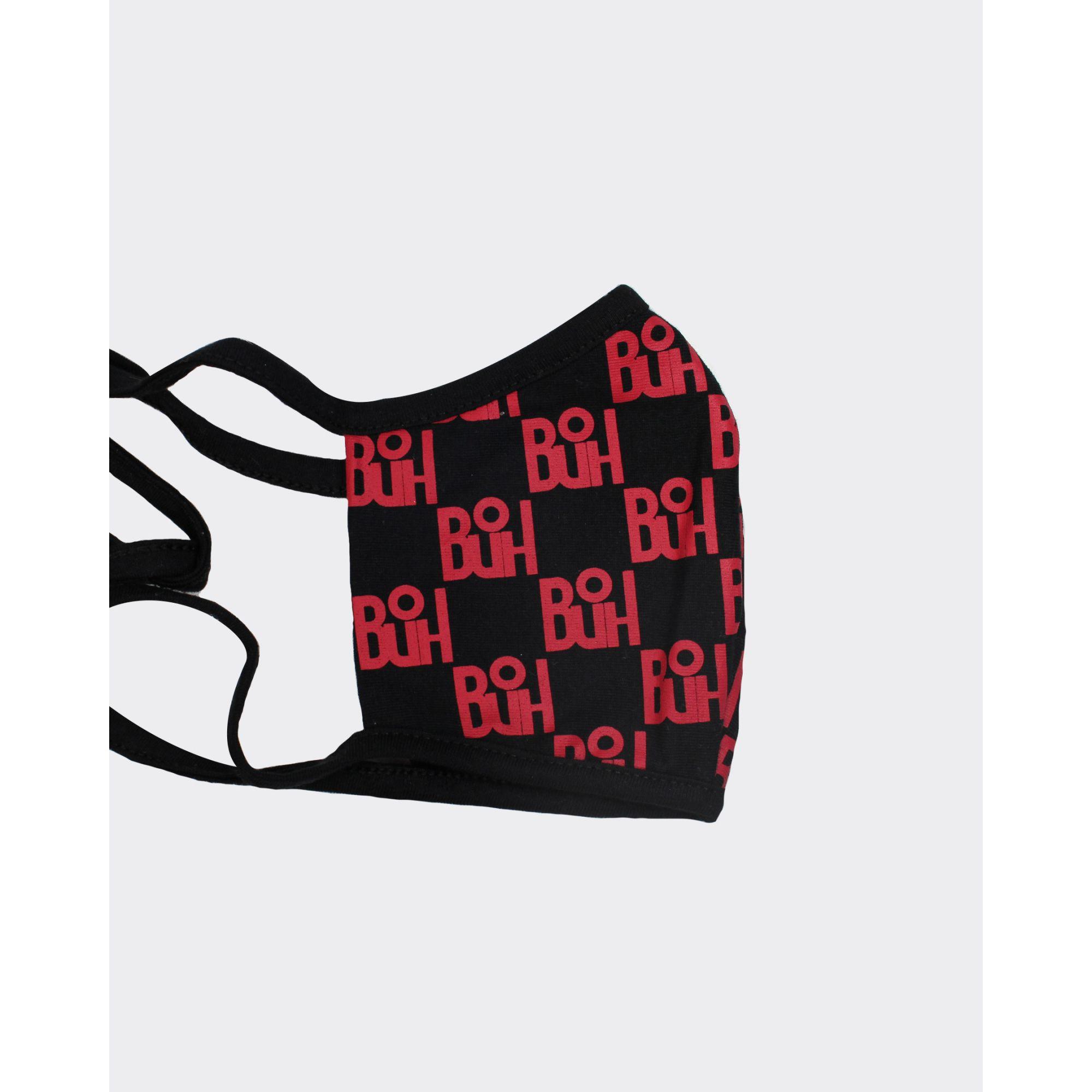 Máscara Buh Proteção Full Print Red & Black