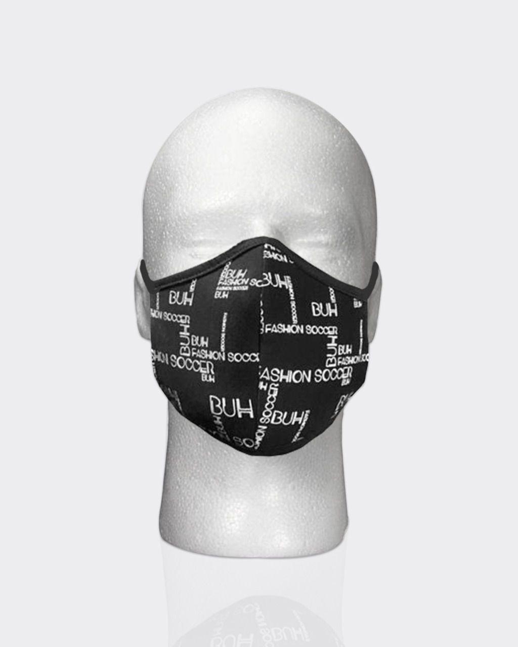 Máscara Buh Proteção Preview Black