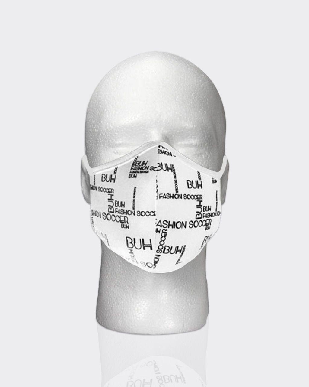 Máscara Buh Proteção Preview White