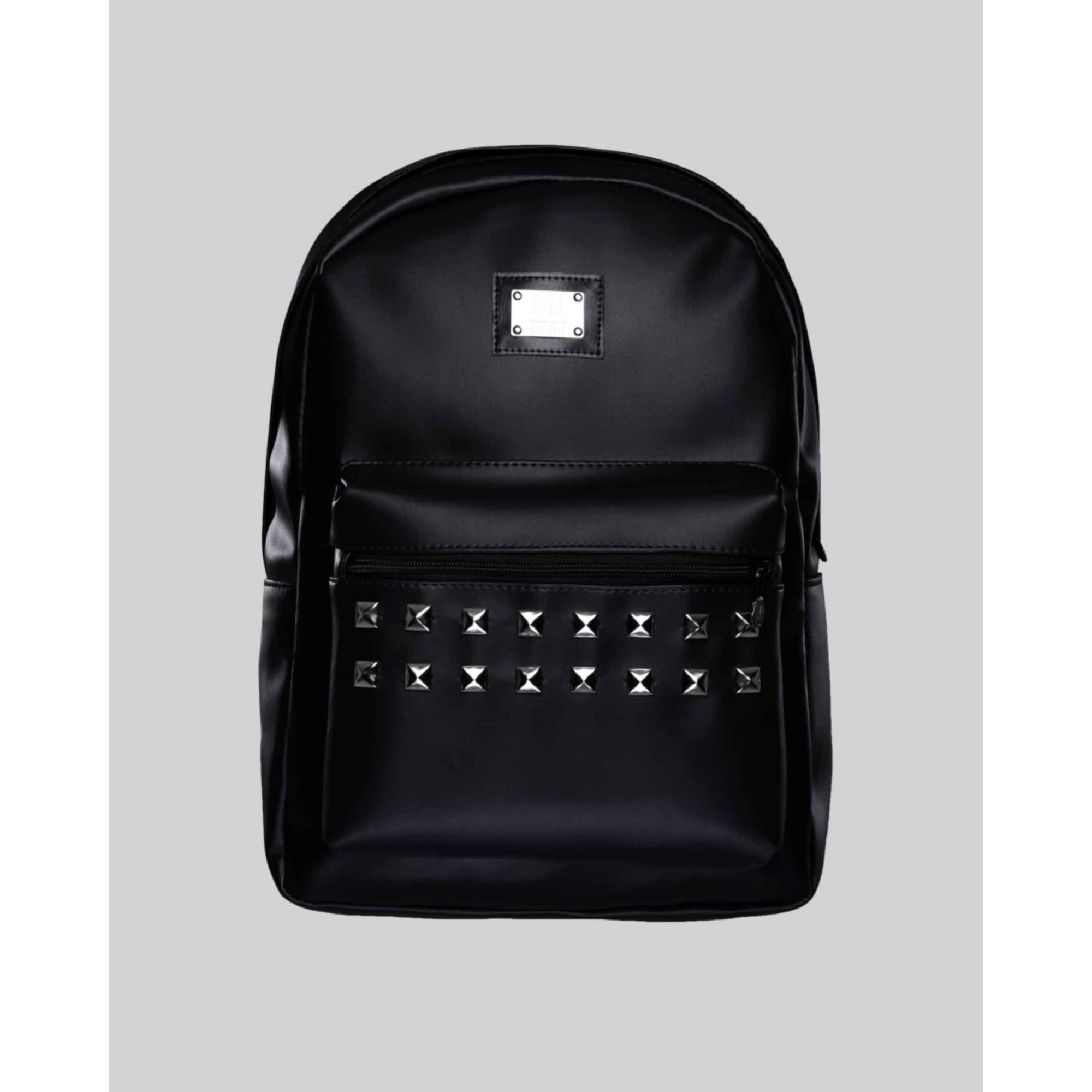 Mochila Buh Leather Spike Black