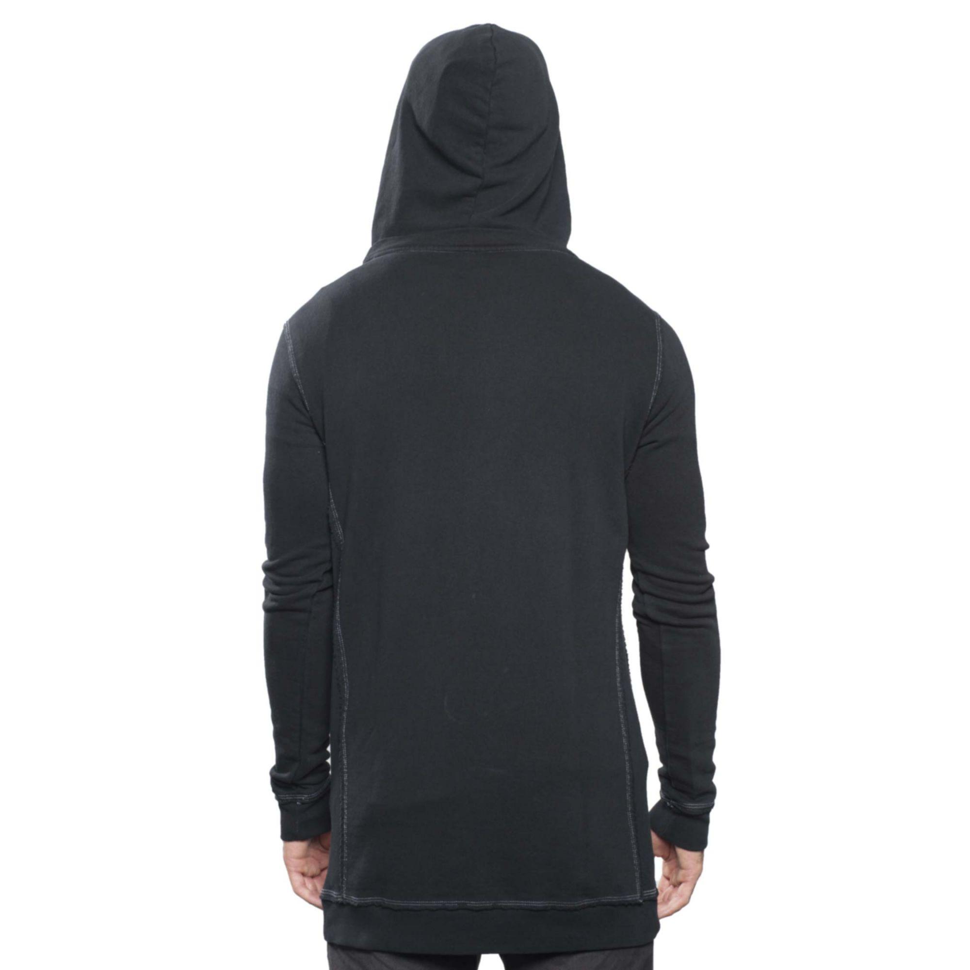 Moletom Buh Contraste Black