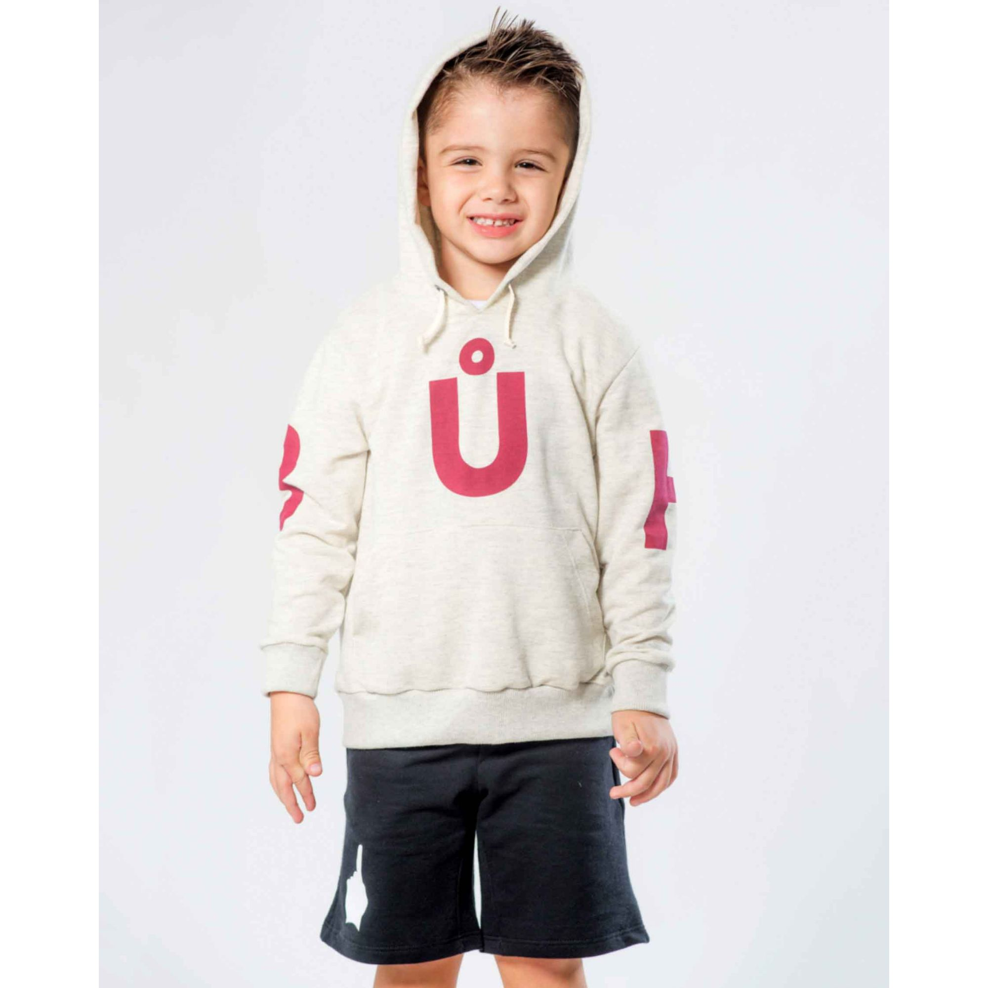 Moletom Buh Kids Off White