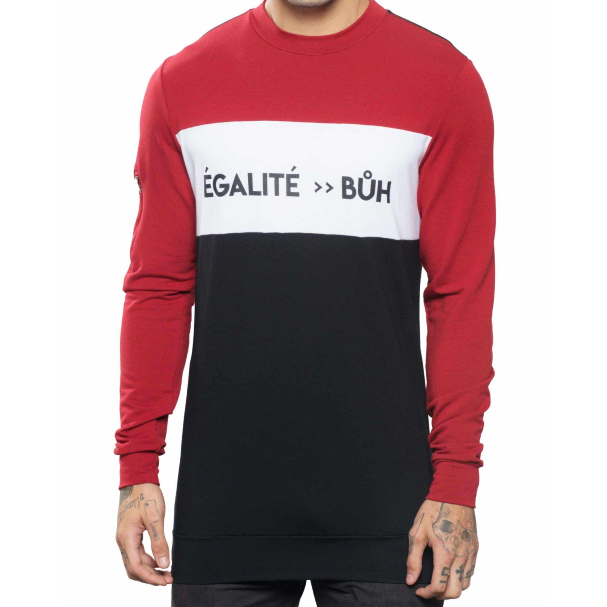 Moletom Buh Recorte Égalité