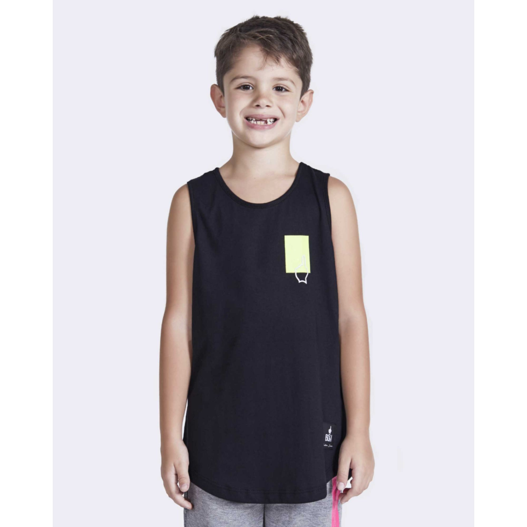 Regata Buh Kids Square Black & Neon