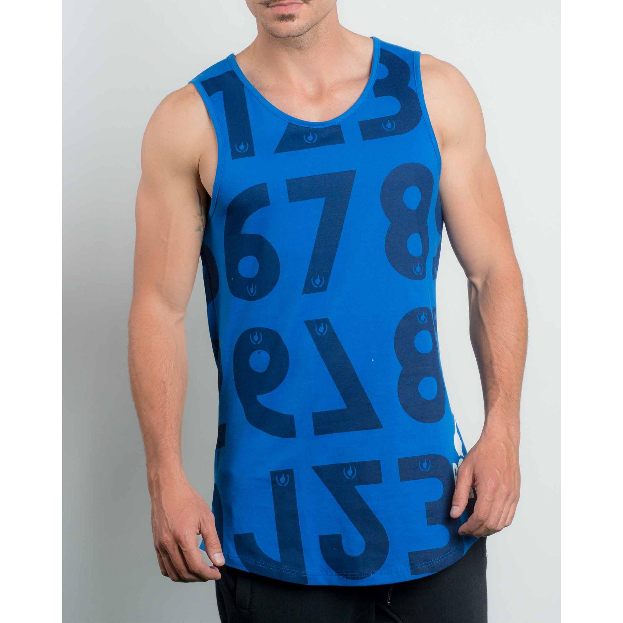 Regata Buh  Numbers Blue & Black