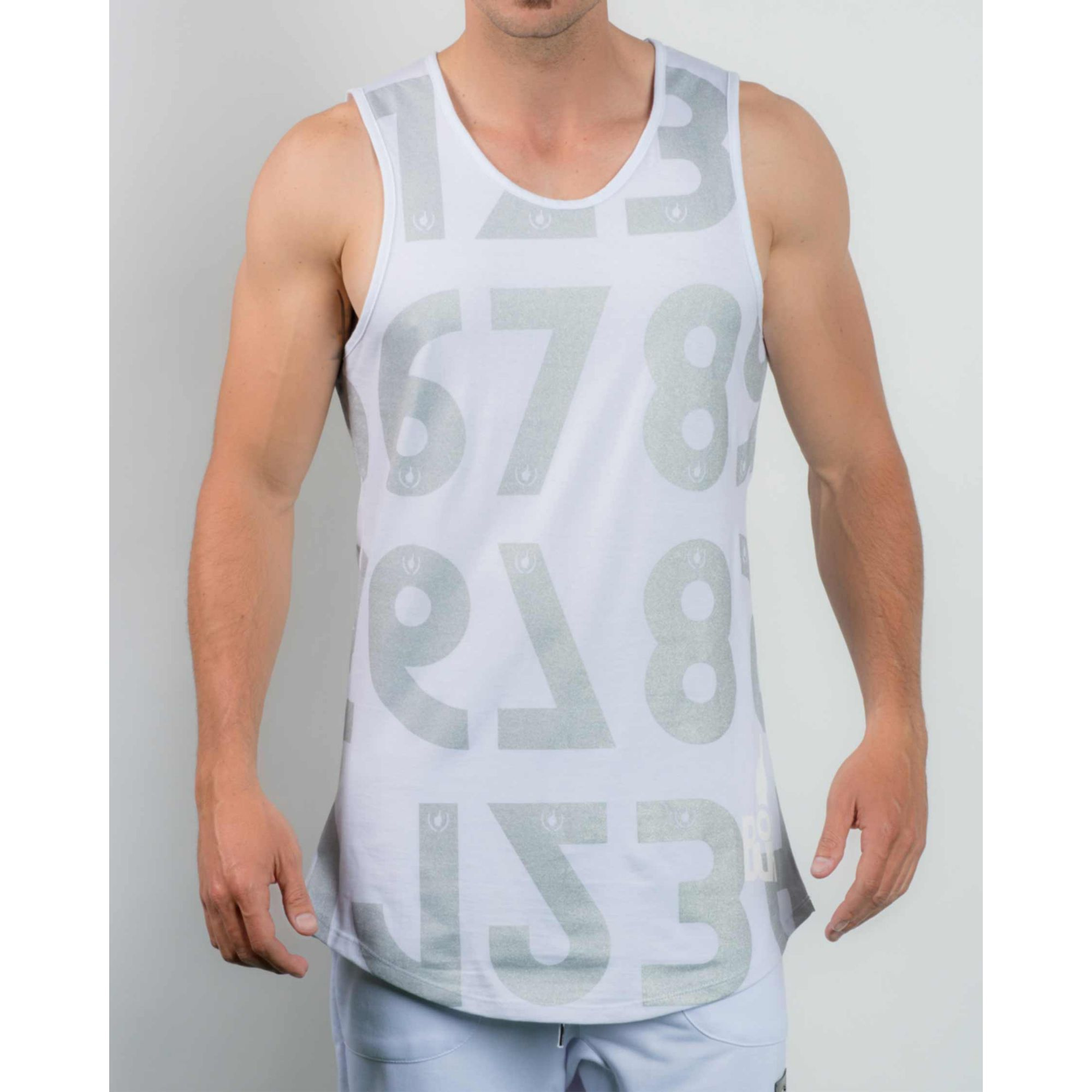 Regata Buh Numbers Ligth Grey