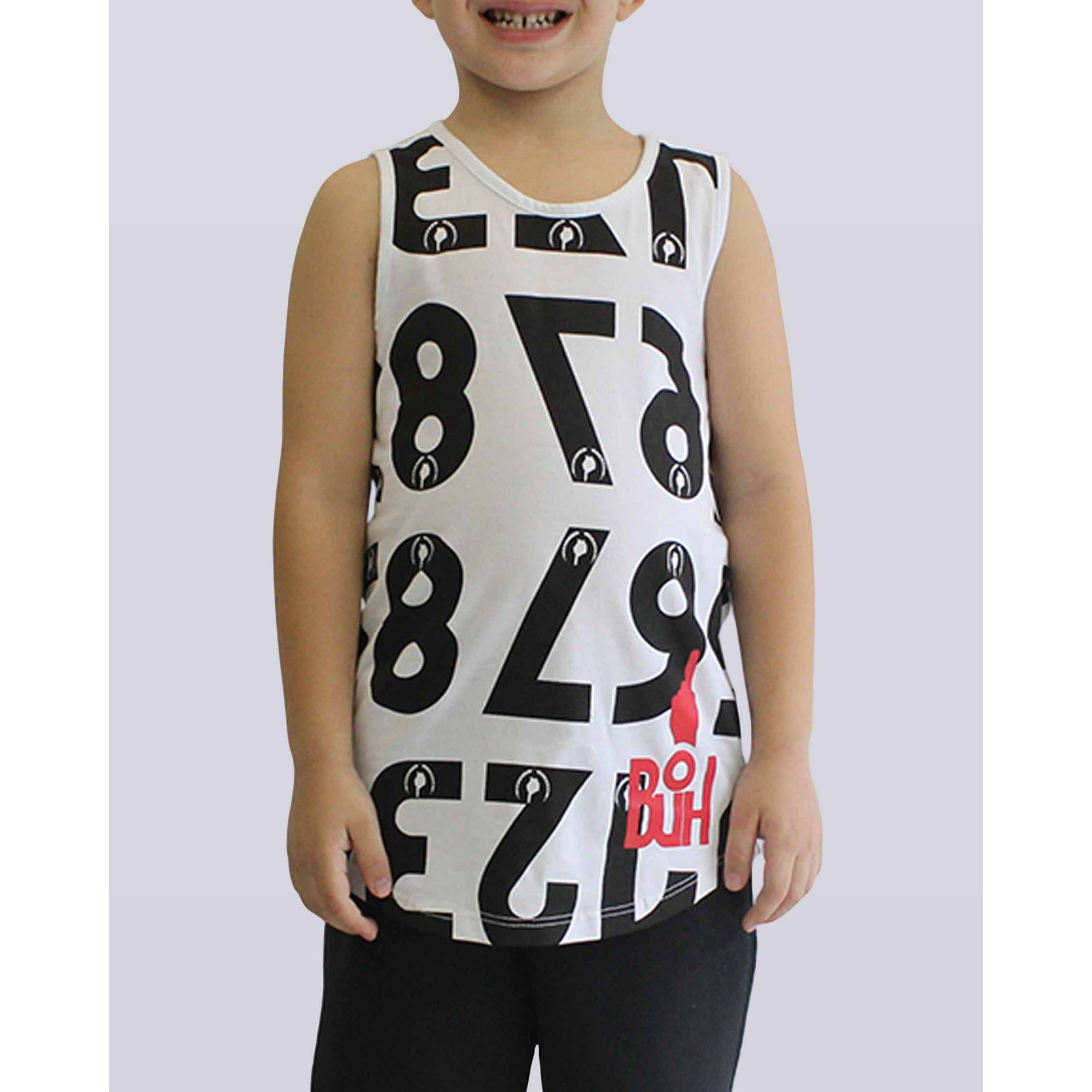 Regata Buh Numbers White & Black Kids
