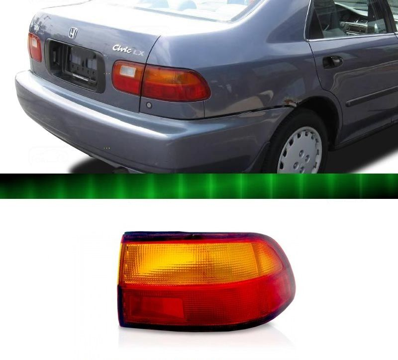Lanterna Traseira Civic Sedan 1992 1993 1994 1995