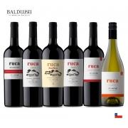 Combo C/ 6un Vinho Chileno Ruca  750ml