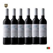 Combo C/6un Vinho Português Terra Do Sado Tinto 750 Ml