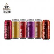 Combo Dogma 6 unidades 473 ml  (Sourmind Frutas Vermelhas , Goldenlicious , Red Eye , American Ipa , Hamurabi , Hop Little Lover )