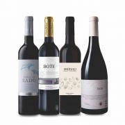 Combo Vinhos Tintos de Portugal C/ 4