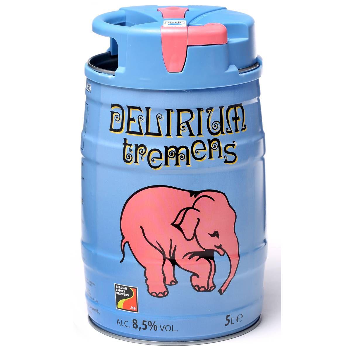 Barrilete Delirium Tremens 5 litros
