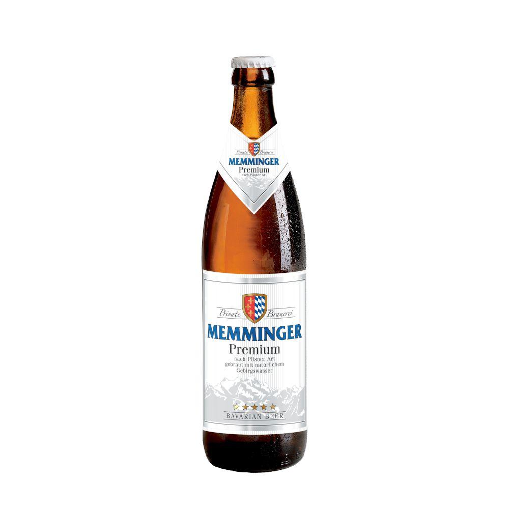 Cerveja Alemã Memminger Premium Pilsen 500ml