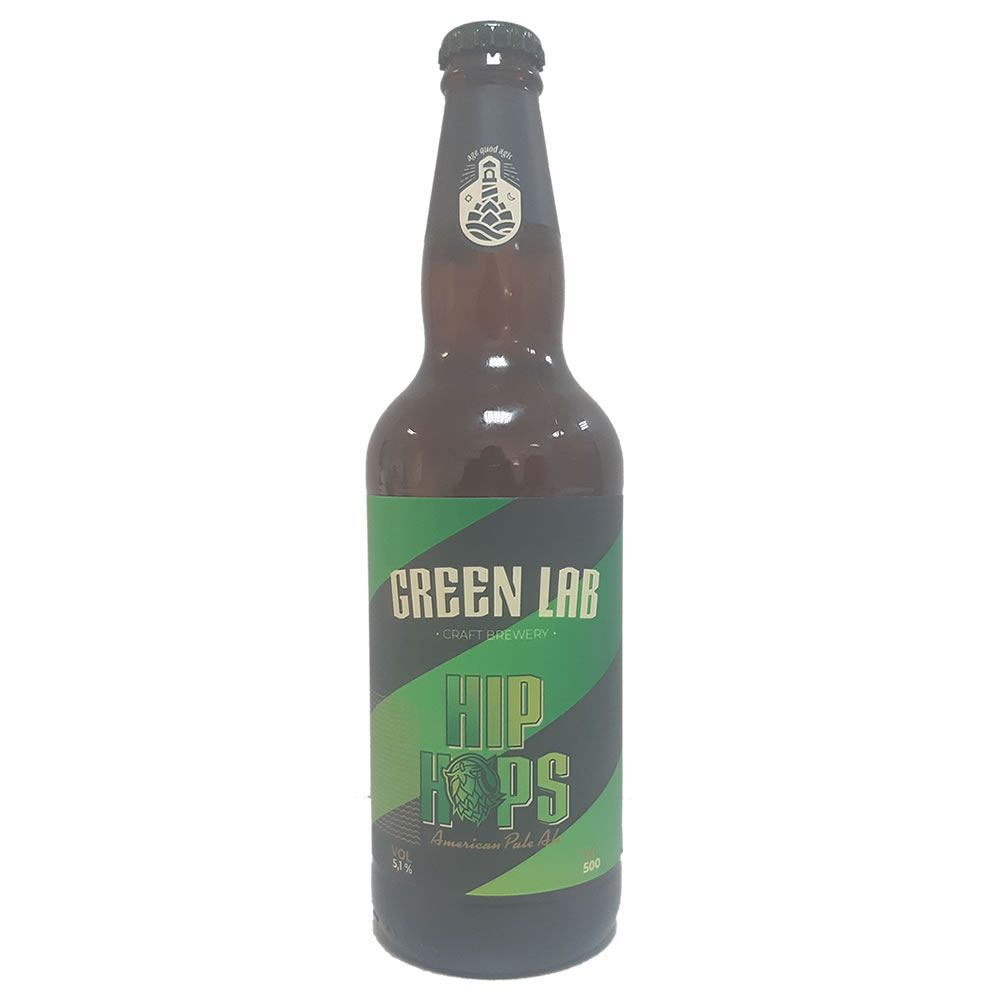 Cerveja Green Lab Hip Hops 500ml