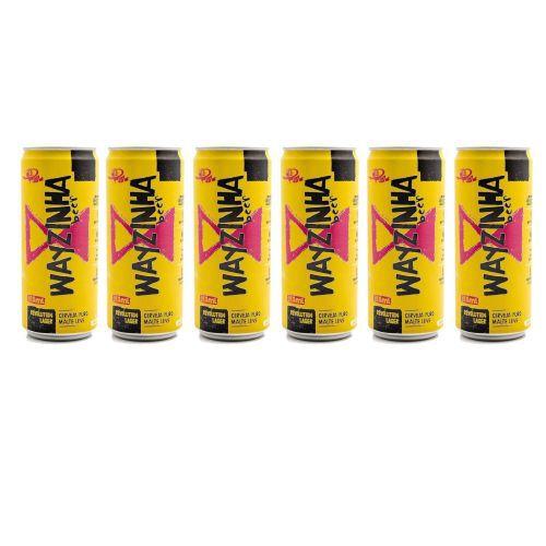 Combo Cerveja Wayzinha 310ml - 6 unidades