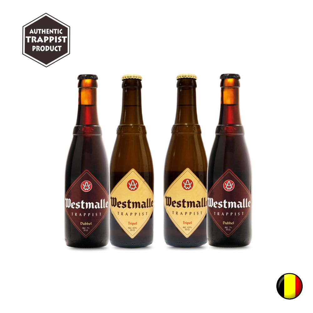 Combo com 4 unidades Westmalle 330ml