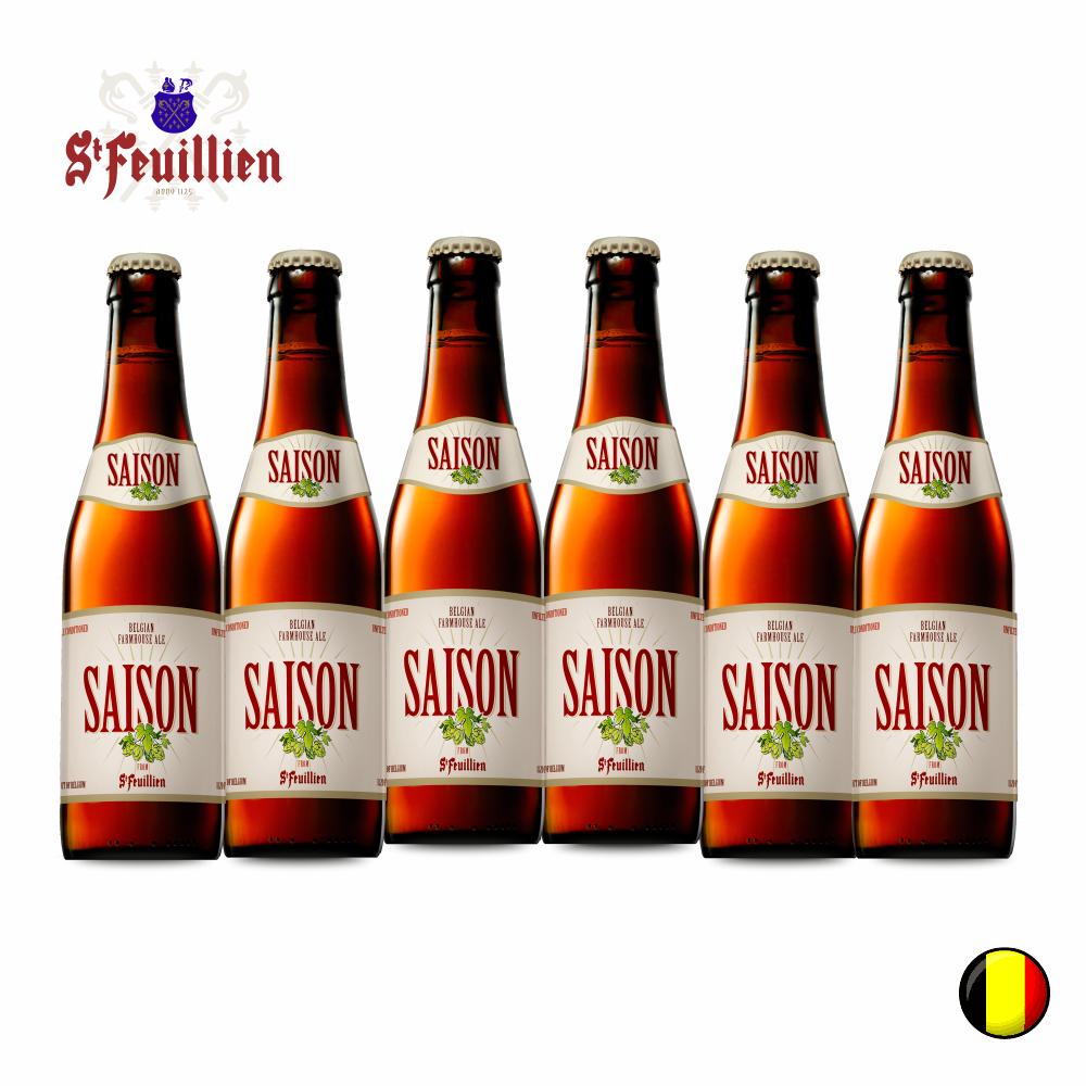 Combo Belga com 6 un  Saison 330ml