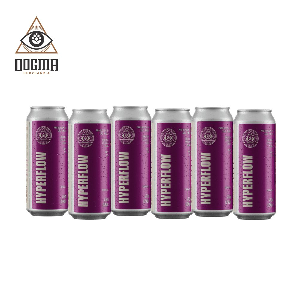 Combo Dogma 6 unidades Hyperflow 473 ml