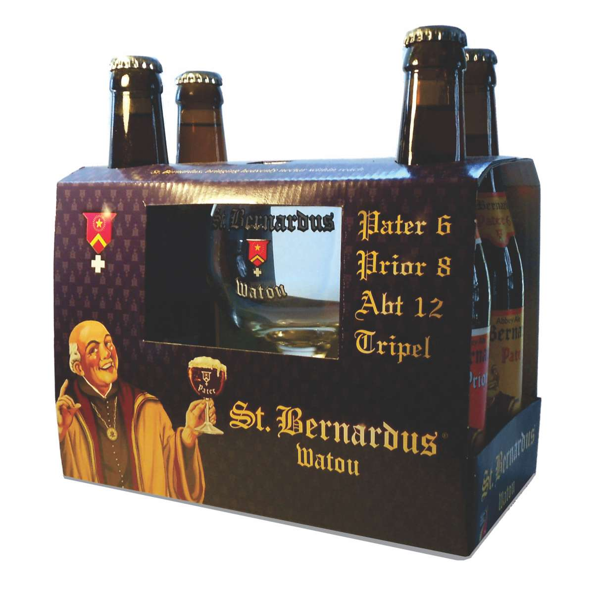 Kit Cervejas St Bernardus 4 + 1