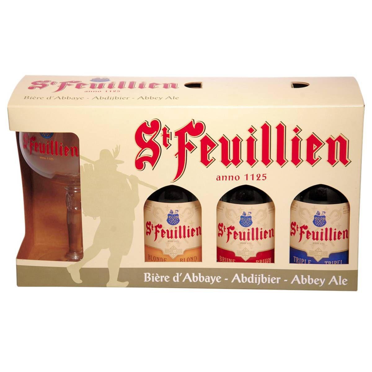 Kit Cervejas St Feuillien 3 + 1