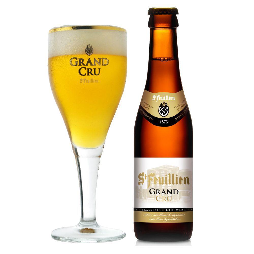 Kit Cervejas St Feuillien Grand Cru 4 + 1