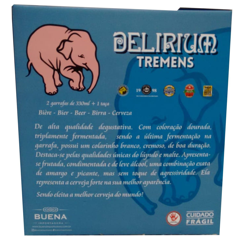 Kit Delirium 2 garrafas + 1 Taça Tromba do Elefante