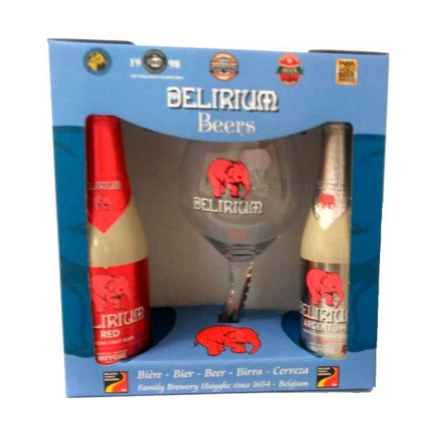 Kit Delirium Argentum  e Red + 1 Taça Tromba do Elefante