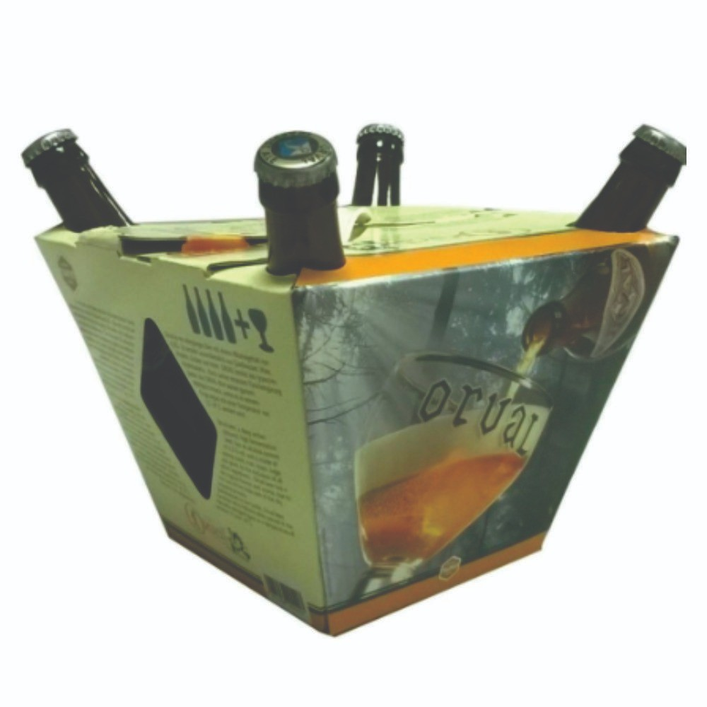 Kit Orval 4 garrafas +1 taça