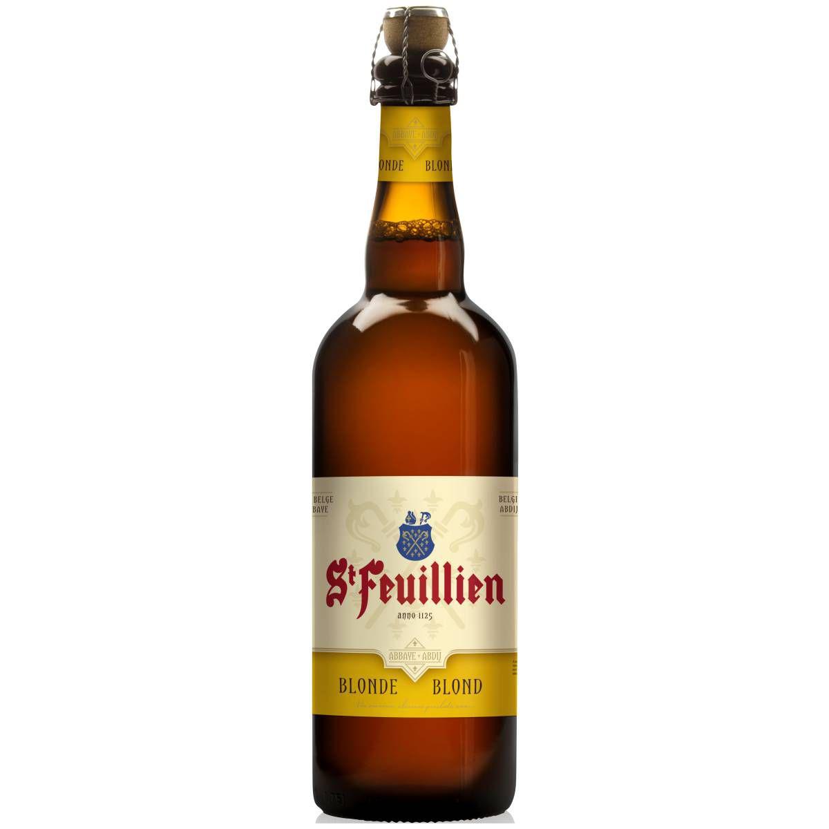 St Feuillien Blonde 750ml  (Validade 01/01/2020)