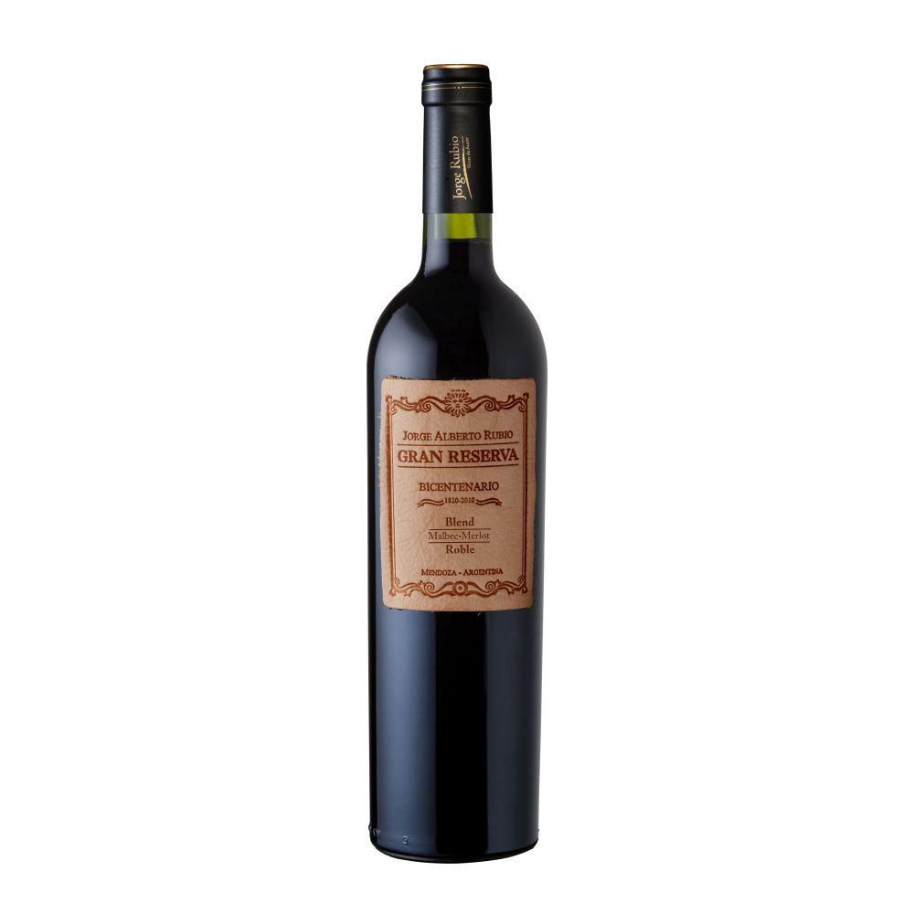 Vinho Argentino Jorge Rubio Gran Reserva Malbec Merlot  750ml