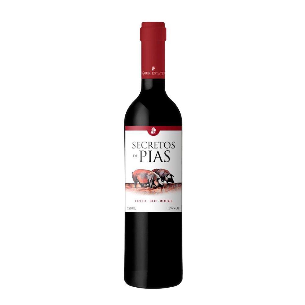 Vinho Fino Tinto Seco Secreto de Pias - 750ML