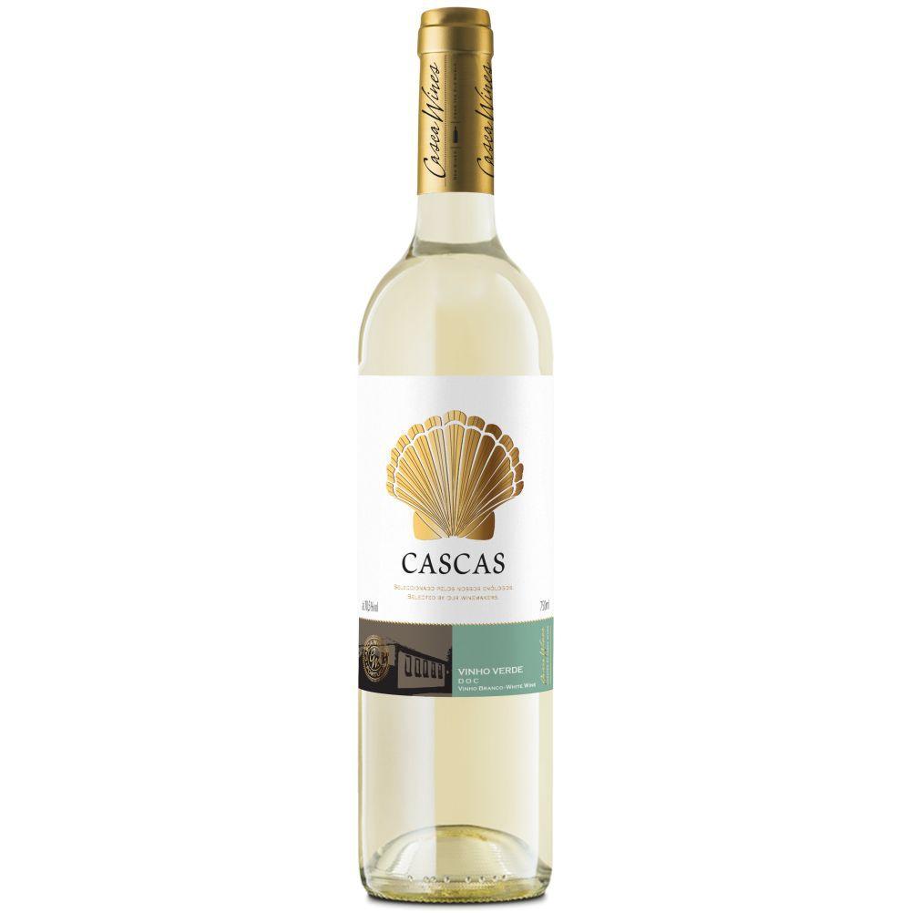 Vinho Português Cascas Doc Verde 2016 - 750ml