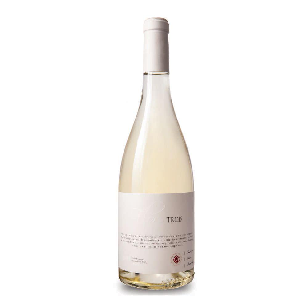 Vinho Português Flor de Trois Branco - 750ml