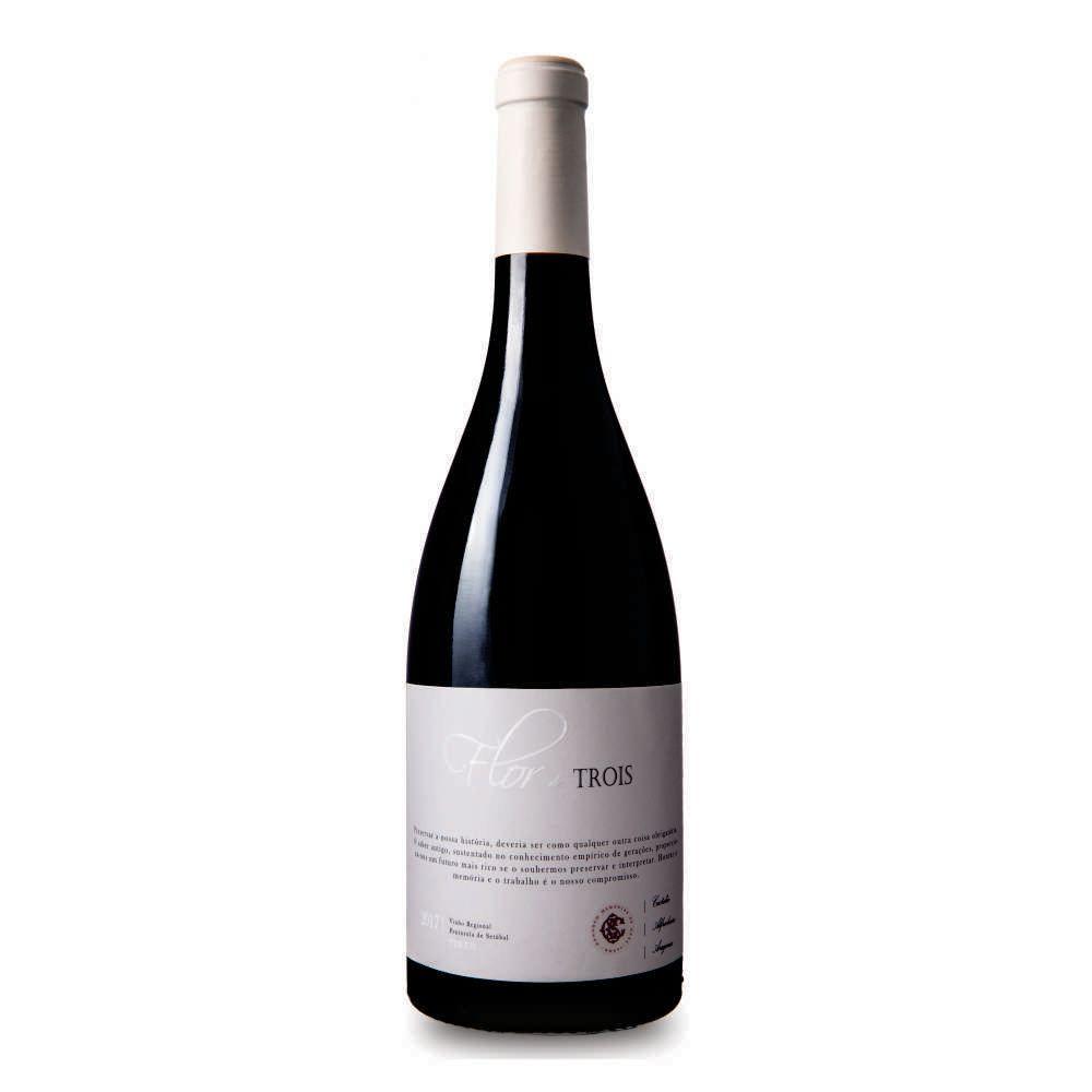 Vinho Português Flor de Trois Tinto - 750ml