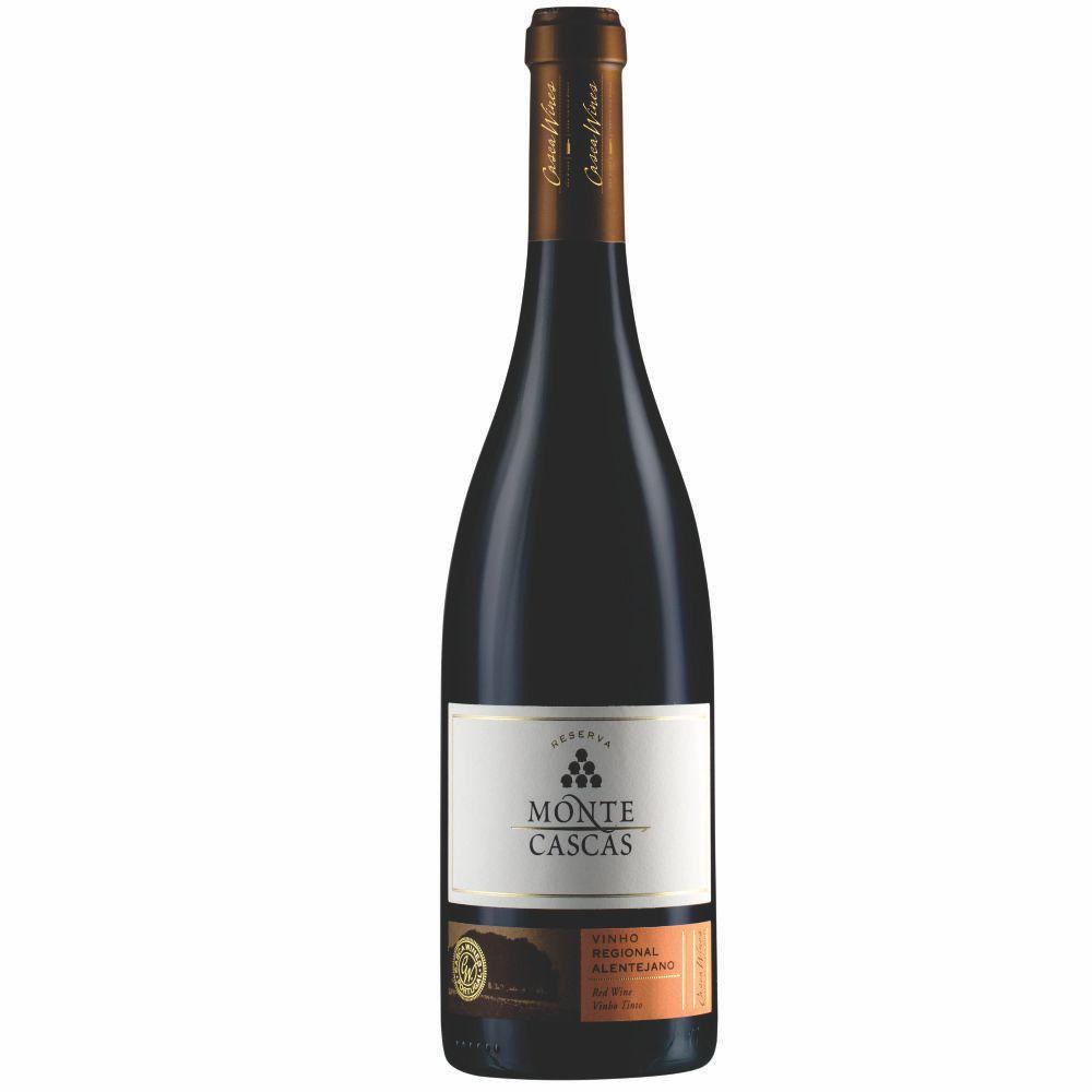 Vinho Português Monte Cascas Tinto Reserva Alentejano 2014 - 750ml